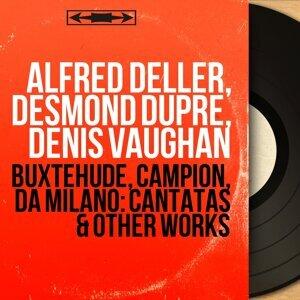 Alfred Deller, Desmond Dupré, Denis Vaughan 歌手頭像