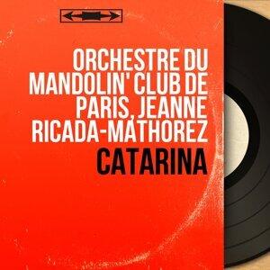 Orchestre du Mandolin' Club de Paris, Jeanne Ricada-Mathorez 歌手頭像