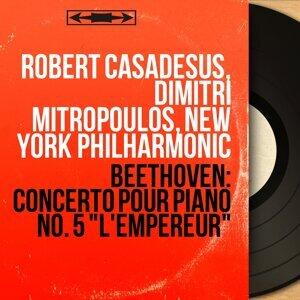 Robert Casadesus, Dimitri Mitropoulos, New York Philharmonic アーティスト写真