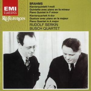 Rudolf Serkin/Busch Quartet アーティスト写真