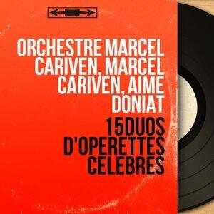 Orchestre Marcel Cariven, Marcel Cariven, Aimé Doniat 歌手頭像