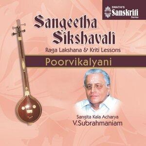 Sangita Kala Acharya V. Subrahmaniam 歌手頭像