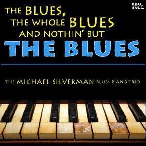 The Michael Silverman Blues Piano Trio アーティスト写真