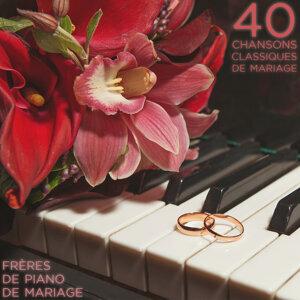 frères de piano de mariage