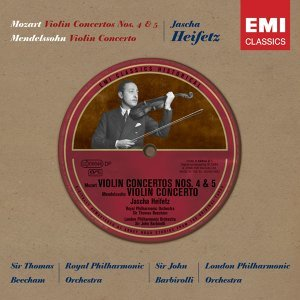 Jascha Heifetz/Sir Thomas Beecham/Sir John Barbirolli/Royal Philharmonic Orchestra/London Philharmonic Orchestra 歌手頭像