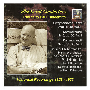 Paul Hindemith 歌手頭像