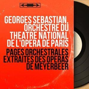 Georges Sébastian, Orchestre du Théâtre national de l'Opéra de Paris 歌手頭像