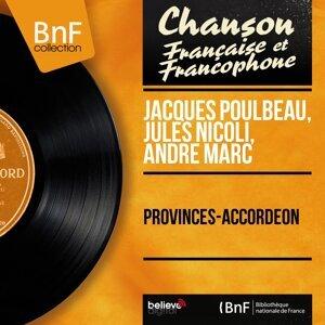 Jacques Poulbeau, Jules Nicoli, André Marc 歌手頭像