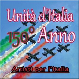 Artisti per l'Italia 歌手頭像