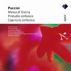 Jose Carreras, Hermann Prey, Claudio Scimone & Philharmonia Orchestra 歌手頭像