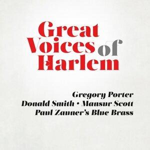 Gregory Porter, Donald Smith, Mansur Scott, Paul Zauner´s Blue Brass 歌手頭像