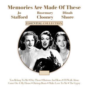 Dinah Shore, Jo Stafford, Rosemary Clooney 歌手頭像