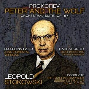 Stadium Symphony Orchestra of New York, Leopold Stokowski, Bob Keeshan 歌手頭像