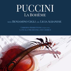Beniamino Gigli, Licia Albanese & La Scala Orchestra 歌手頭像