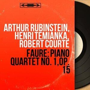 Arthur Rubinstein, Henri Temianka, Robert Courte 歌手頭像