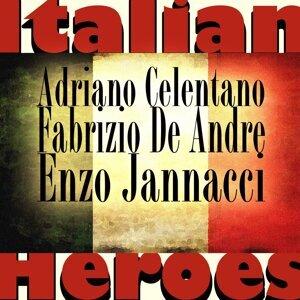 Adrian Celentano, Fabrizio De Andre, Enzo Jannacci 歌手頭像
