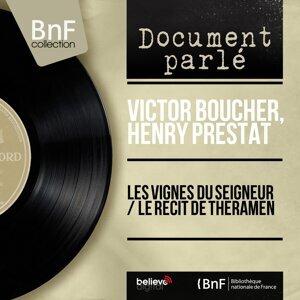 Victor Boucher, Henry Prestat 歌手頭像
