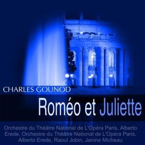 Orchestre de l'Opéra de Paris, Alberto Erede, Raoul Jobin, Janine Micheau 歌手頭像