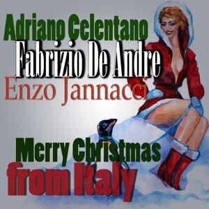 Fabrizio De André, Adriano Celentano, Enzo Jannacci 歌手頭像
