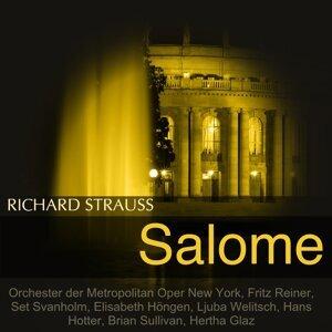 Metropolitan Opera Orchestra, Fritz Reiner, Set Svanholm, Ljuba Welitsch 歌手頭像