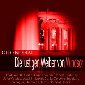 Staatskapelle Berlin, Hans Löwlein, Robert Lauhöfer, Jutta Vulpius 歌手頭像