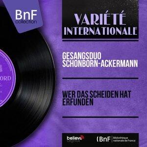 Gesangsduo Schonborn-Ackermann 歌手頭像