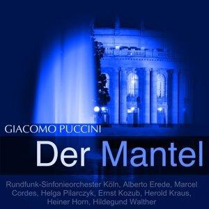 Rundfunk-Sinfonieorchester Köln, Alberto Erede, Marcel Cordes 歌手頭像