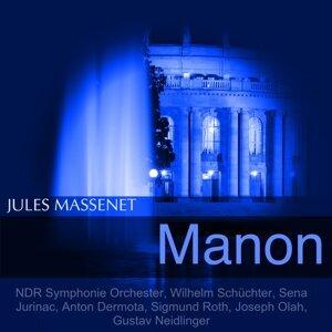 NDR Symphonie Orchester, Wilhelm Schüchter, Sena Jurinac, Anton Dermota 歌手頭像
