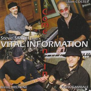 Steve Smith, Vital Information 歌手頭像