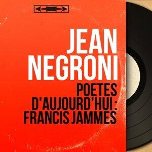 Jean Negroni 歌手頭像