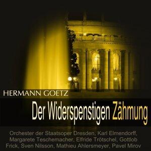 Orchester der Staatsoper Dresden, Karl Elmendorff, Margarete Teschemacher, Elfride Trötschel, Gottlob Frick, Sven Nilsson, Mathieu Ahlersmeyer, Pavel Mirov 歌手頭像