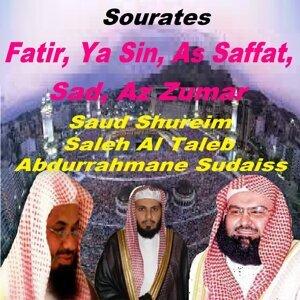Abdurrahmane Sudaiss, Saleh Al Taleb, Saud Shureim 歌手頭像