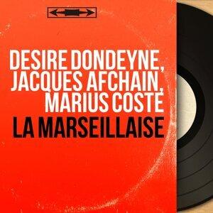 Désiré Dondeyne, Jacques Afchain, Marius Coste 歌手頭像