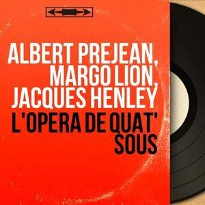 Albert Préjean, Margo Lion, Jacques Henley 歌手頭像