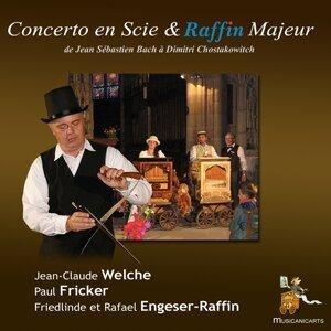Jean-Claude Welche, Paul Fricker, Friedlinde Raffin 歌手頭像