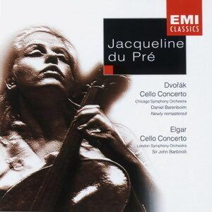 Jacqueline Du Pre/Chicago Symphony Orchestra/Daniel Barenboim/London Symphony Orchestra/Sir John Barbirolli 歌手頭像