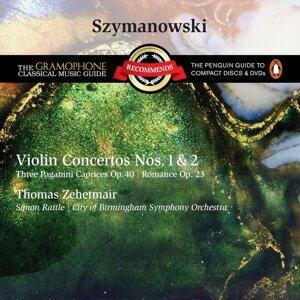 Thomas Zehetmair/City Of Birmingham Symphony Orchestra/Sir Simon Rattle/Silke Avenhaus アーティスト写真