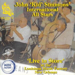 John 'Kid' Simmons' International All Stars 歌手頭像