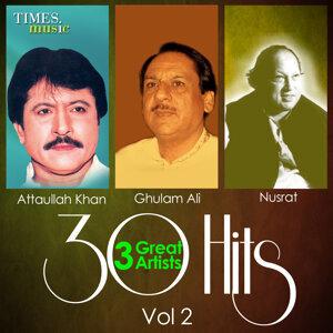 Ghulam Ali, Attaullah Khan, Nusrat Fateh Ali Khan 歌手頭像