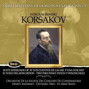 Orchestre de la Societe Des Concerts Du Conservatorie, Oistrakh y Us Army Band 歌手頭像
