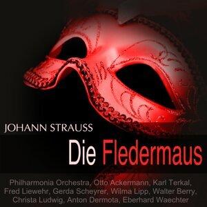 Philharmonia Orchestra, Otto Ackermann, Karl Terkal, Gerda Scheyrer 歌手頭像