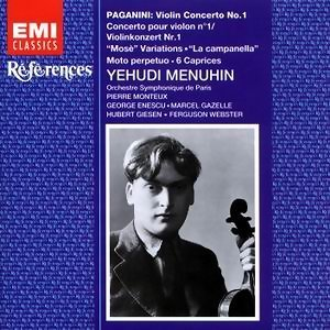 Yehudi Menuhin/Orchestre Symphonique De Paris/Pierre Monteux/Hubert Giesen/Marcel Gazelle/Ferguson Webster/George Enescu アーティスト写真