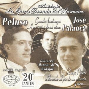José Palanca, Manolo de Badajoz, Peluso 歌手頭像