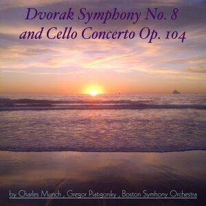 Boston Symhony Orchestra, Charles Munch, Gregor Piatigorsky 歌手頭像