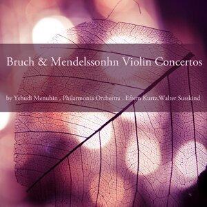 Philharmonia Orchestra, Yehudi Menuhin, Efrem Kurtz 歌手頭像