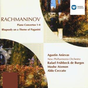 Augustin Anievas/New Philharmonia Orchestra/Rafael Fruhbeck De Burgos/Moshe Atzmon/Aldo Ceccato アーティスト写真