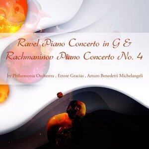 Philarmonia Orchestra, Ettore Gracias, Arturo Benedetti Michelangeli 歌手頭像