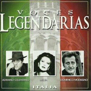 Adriano Celentano, Milva, Domenico Modugno 歌手頭像