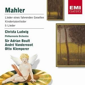 Sir Adrian Boult/Christa Ludwig/Philharmonia Orchestra/Andre Vandernoot/Otto Klemperer 歌手頭像