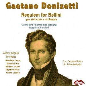 Orchestra Filarmonica Italiana, Coro Canticum Novum, Ruggero Barbieri 歌手頭像
